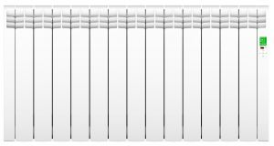 Rointe D Series DIW1430RAD Wi-Fi White  1430 Watts Electric Radiator 13 Elements