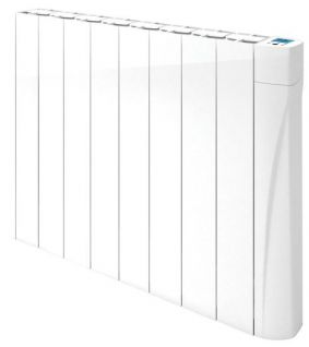 Osily 1250 Watts OSDR1250 Ceramic  Core White Electric Radiator Digital Programmable Thermostat