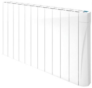 Osily 1750 Watts OSDR1750 Ceramic Core White Electric Radiator Digital Programmable Thermostat