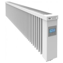 SmartCore AF14SC 2000W Wi-Fi Clay Core Germany Conservatory Electric Radiator White - (W-1580mm H-325mm D-90mm) Alexa & Google Home Enabled