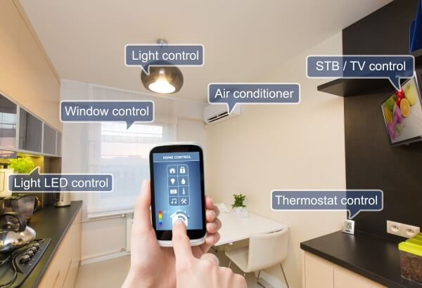 Home automation controlling your house via your phone image